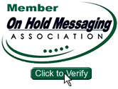 Member On-Hold Messaging Association